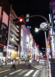 Toyko night impression Royalty Free Stock Images