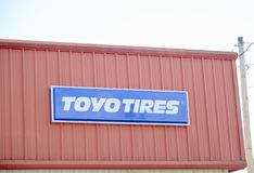 Toyo Męczy wytwórcy Zdjęcia Royalty Free
