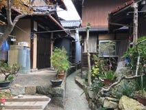 Toyohama kleine straten en stegen royalty-vrije stock foto