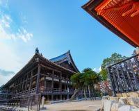 Toyokuni świątynia w Miyajima Obrazy Royalty Free