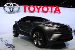 Toyora C-HR begrepp på IAA-bilarna Arkivbilder