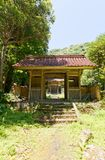 Toyosaka Shrine of Iwami Ginzan, Omori, Japan. Gate of Toyosaka Shinto Shrine of Iwami Ginzan Silver Mine cultural landscape, Shimane Prefecture, Japan. World Stock Image
