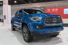 Toyota Τακόμα στην επίδειξη στοκ φωτογραφίες με δικαίωμα ελεύθερης χρήσης