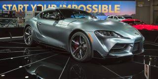 2020 Toyota υπερ στοκ εικόνες με δικαίωμα ελεύθερης χρήσης