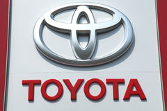 Toyota royalty free stock image