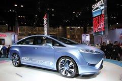 Toyota 2013 Fuelcell FCV-R Fotografia Stock Libera da Diritti