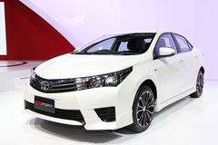 Toyota All New Corolla Altis Esport car on display Royalty Free Stock Image