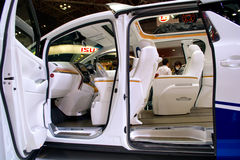 Toyota Alphard Hercule, exposição automóvel 2015 do Tóquio Imagens de Stock