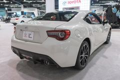 Toyota 86 auf Anzeige Stockfotos