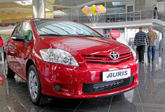 Toyota Auris Royalty Free Stock Photos