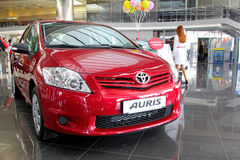 Toyota Auris Royalty Free Stock Photography