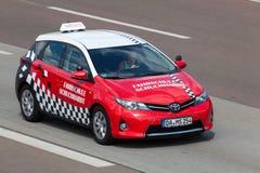 Toyota Auris driving school car Stock Photos