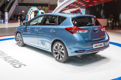 2015 Toyota Auris-Hybride Stock Foto's