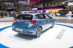 2015 Toyota Auris-Hybride Stock Fotografie