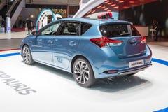 2015 Toyota Auris hybryd Zdjęcia Stock