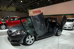 Toyota Auris new. Russian premiere Royalty Free Stock Image