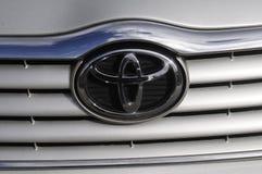 Toyota-auto Royalty-vrije Stock Afbeelding