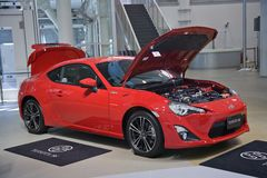 2017 Toyota 86 auto japan Stock Foto