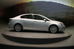 TOYOTA AVENSIS Stock Images