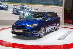 2015 Toyota Avensis Royalty Free Stock Photography