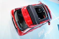 Toyota Aygo fala, Motorowy przedstawienie Genewa 2015 Zdjęcie Stock