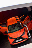 Toyota Aygo at the 2014 Geneva Motorshow Stock Photo