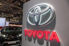 Toyota-Bedrijfembleem Stock Foto