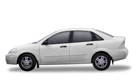 Toyota blanco imagen de archivo