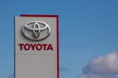Toyota Brand Logo Stock Photos