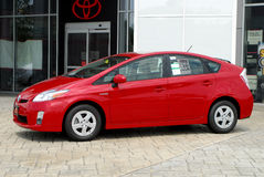 Toyota brandnew Prius Fotografia Stock