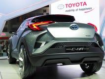 Toyota C-HR Concept car stock photos
