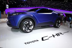 The Toyota C-HR Concept Royalty Free Stock Photo