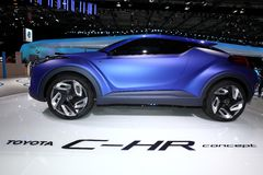 The Toyota C-HR Concept Royalty Free Stock Photos