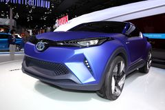 The Toyota C-HR Concept Royalty Free Stock Images