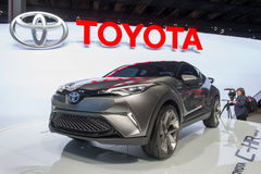 Toyota C-HR Concept - world premiere. Royalty Free Stock Photo