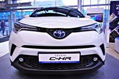 Toyota C-HR showroom obraz royalty free