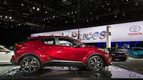 2018 Toyota c-u Royalty-vrije Stock Foto's