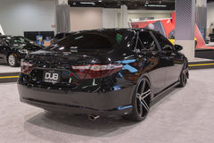 Toyota Camry customized on display. Royalty Free Stock Photo