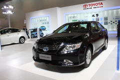 Toyota camry hev Stock Photo