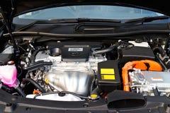 Toyota Camry Hybrid 2014 Engine Stock Photos