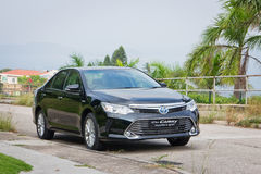 Toyota Camry Hybrid 2014 test Drive Royalty Free Stock Image
