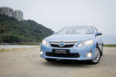 Toyota Camry Hybrid 2012 Royalty Free Stock Photography