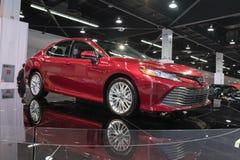 Toyota Camry su esposizione fotografia stock libera da diritti