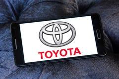 Toyota car logo Royalty Free Stock Photos