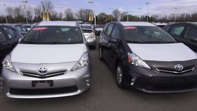 Toyota Cars, New Cars, Japanese Cars stock video