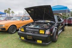 Toyota Celica 1983 na pokazie Zdjęcia Royalty Free