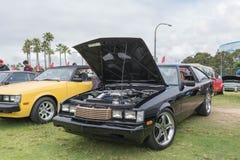 Toyota Celica 1980 na pokazie Obrazy Royalty Free