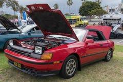 Toyota Celica 1987 på skärm Arkivfoton