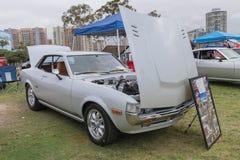 Toyota Celica 1977 på skärm Royaltyfri Fotografi
