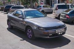 Toyota Celica rätsidasikt framme royaltyfria bilder